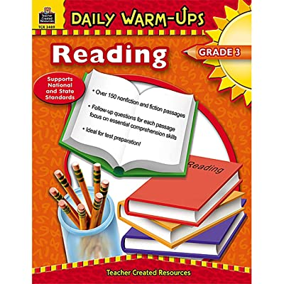 Teacher Created Resources Daily Warm-Ups: Reading Book, Grade 3: Office Products