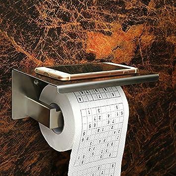 Valink Edelstahl Toilettenpapierhalter, Küche, Bad, Papier Tissue Roller  Halter, Ablage Rack,
