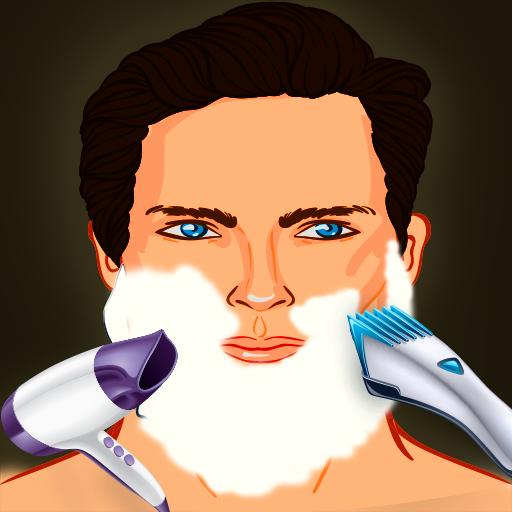 Drunken Shaving Barber Hair Beauty Salon :