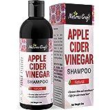 Raw Apple Cider Vinegar Shampoo – Clarifying Hair Growth Shampoo for Oily Hair – Sulfate Free Organic ACV Shampoo for…