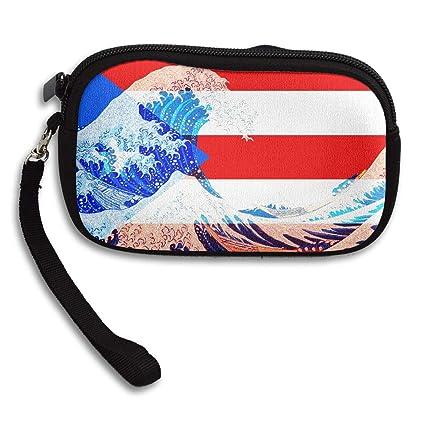 Monedero con diseño de Bandera de Puerto Rico y Cartera con ...