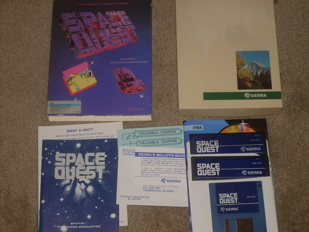 Space Quest I: Roger Wilco in the Sarien Encounter (輸入版)