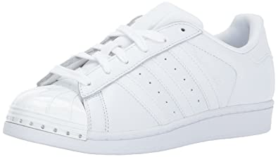 new product eb83e f819e adidas Originals Women s Superstar Metal Toe W Skate Shoe Running White Black,  5.5 Medium