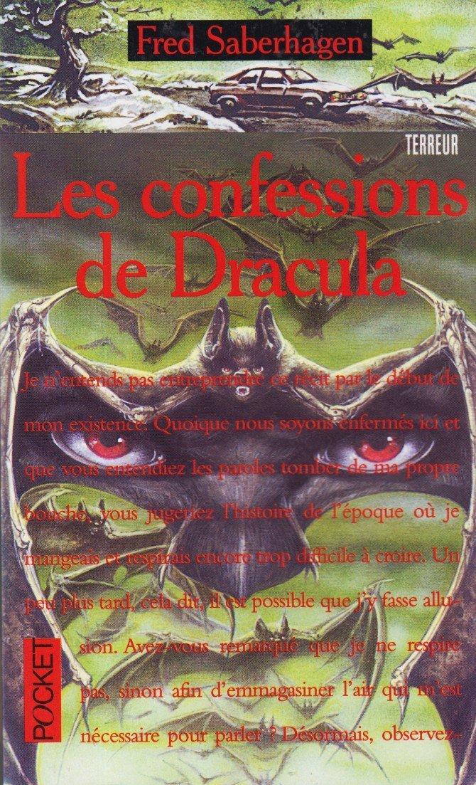 Couverture de Les confessions de dracula