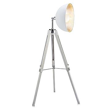 teamson design corp vnl00018a versanora fascino 63u0026quot metal retro studio tripod floor lamp