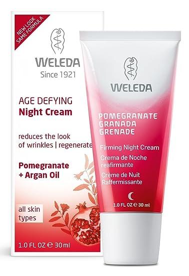 Pomegranate Firming Night Cream - 1 fl. oz. by Weleda (pack of 2) Bay Leaf - Cream (2 oz, ZIN: 428564) - 2-Pack