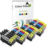 Colour Direct - 15 Kompatibel Tinte Kartuschen - 29XL Ersatz für Epson Expression Home XP-235 XP-245 XP-247 XP-255 XP-257 XP-332 XP-335 XP-342 XP-345 XP-352 XP-355 XP-432 XP-435 XP-442 XP-445 XP-452 XP-455 Drucker. 6 X 2991 3 x 2992 3 X 2993 3 X 2994 ( 15 Tintes )