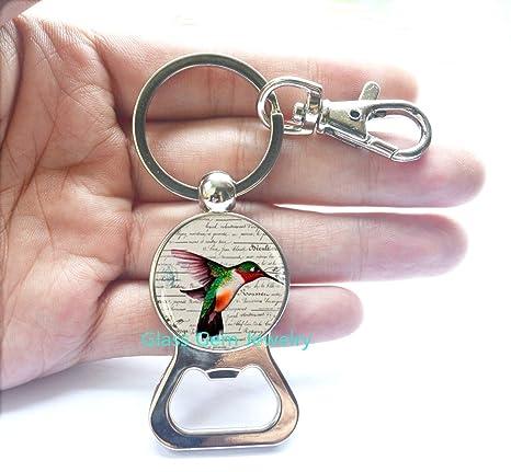 Amazon.com: Humming Bird Bottle Opener Keychain, Humming ...