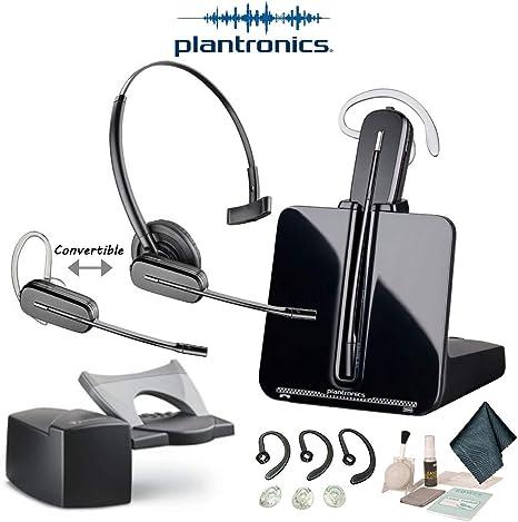 Amazon Com Plantronics Cs540 Convertible Wireless Headset Bundle With Savi Hl10 Handset Lifter Electronics