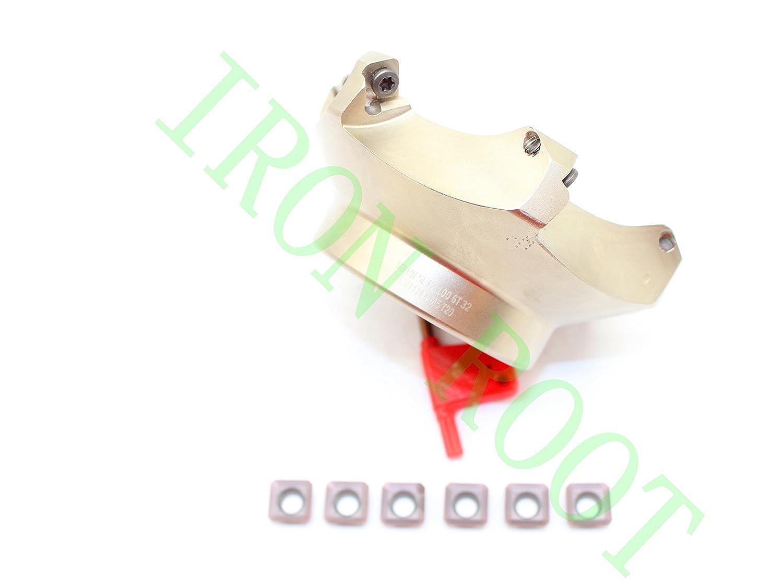 New 1P  MFPNSE12-100-6T-32  6Flute Milling Cutter 6P SEKT1204 AFTN-XM LF6018