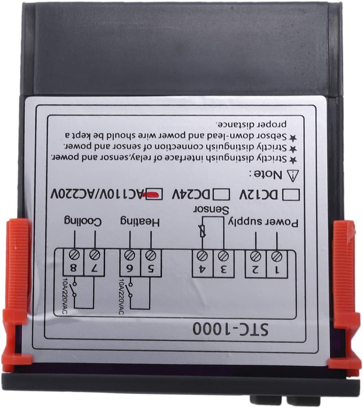 Sonde Tmand 220V numerique STC-1000 Controleur de temperature Thermostat Regulateur