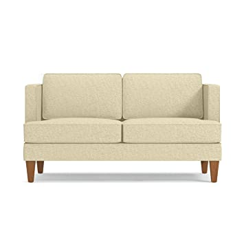 Amazon.com: Astor Apartment Size Sofa, Bisque, 56\