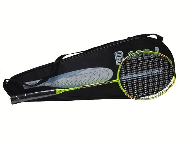 Amazon.com: Genji Deportes Trapezium Raqueta de bádminton ...