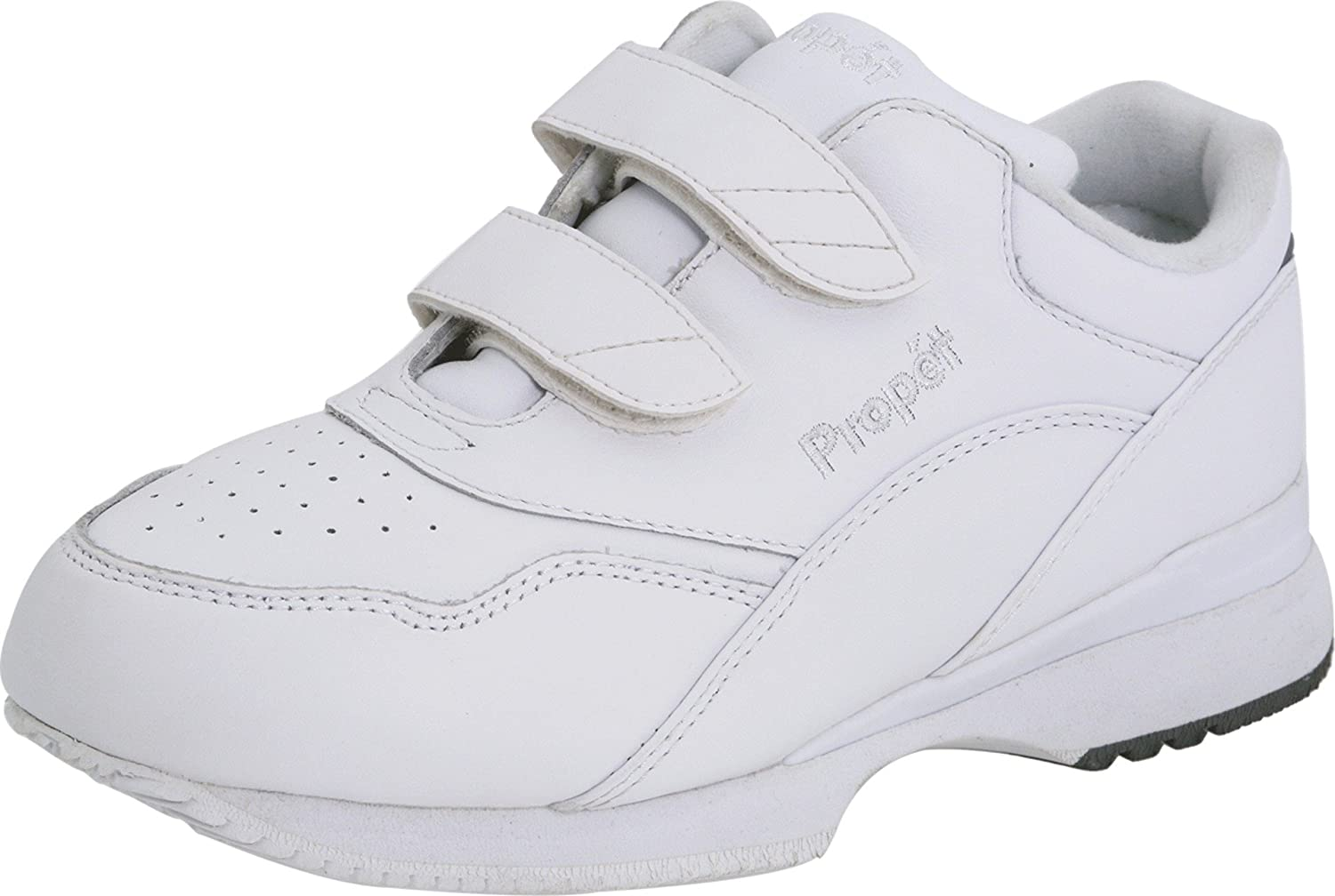 Propet Women's Tour Walker Strap Sneaker B000BO8980 6 X US|White