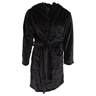 15aca9737b Pierre Roche Mens Soft Touch Hooded Dressing Gown  Amazon.co.uk  Clothing