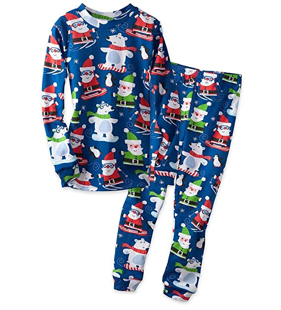 74d088ae2 2017 christmas pyjamas kids clothes baby boys girls clothing long ...