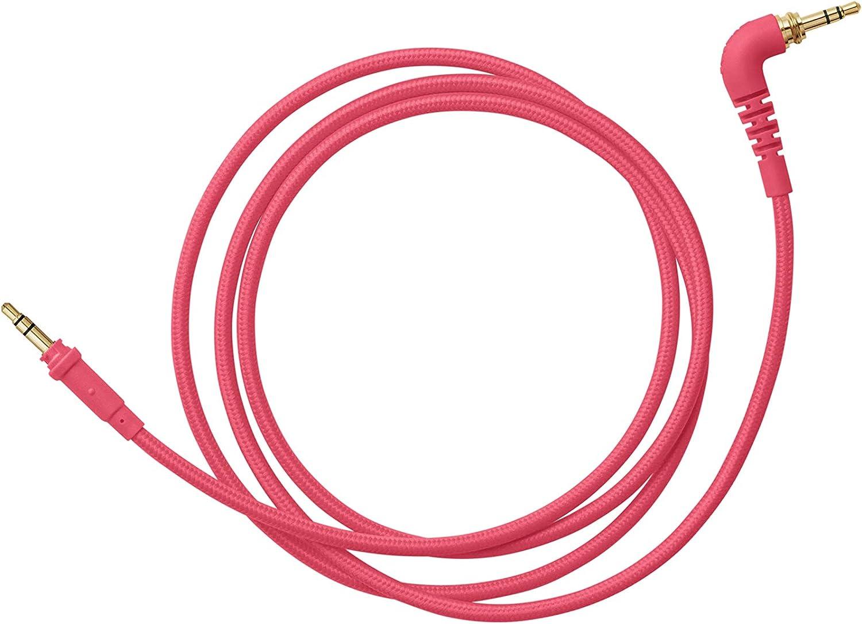 Cavo dritto intrecciato 1,2 m colore rosa neon AIAIAIAI TMA-2 Cavo C13