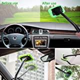 Windshield wonder-Car Windscreen Cleaner Tools Windshield Cleaner Wiper windshield cleaner microfiber From Inside Window Glass Cleaning Tools Great for Fog & Moisture Removal