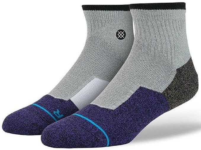 Stance – Calcetines para hombre puente Skate, Gris