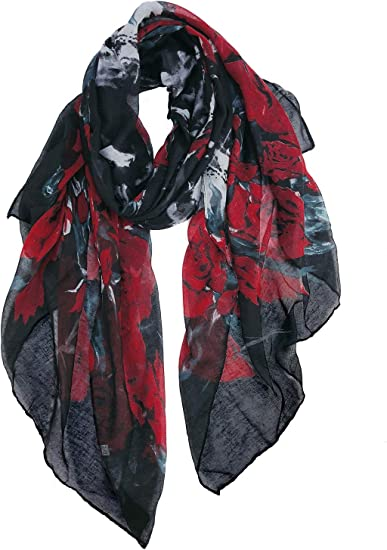 LIGHT WEIGHT SCARF WRAP EVENING WEAR ALL SEASON SOLID COLOR HOTPINK