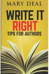 Write It Right: Tips For Authors Paperback