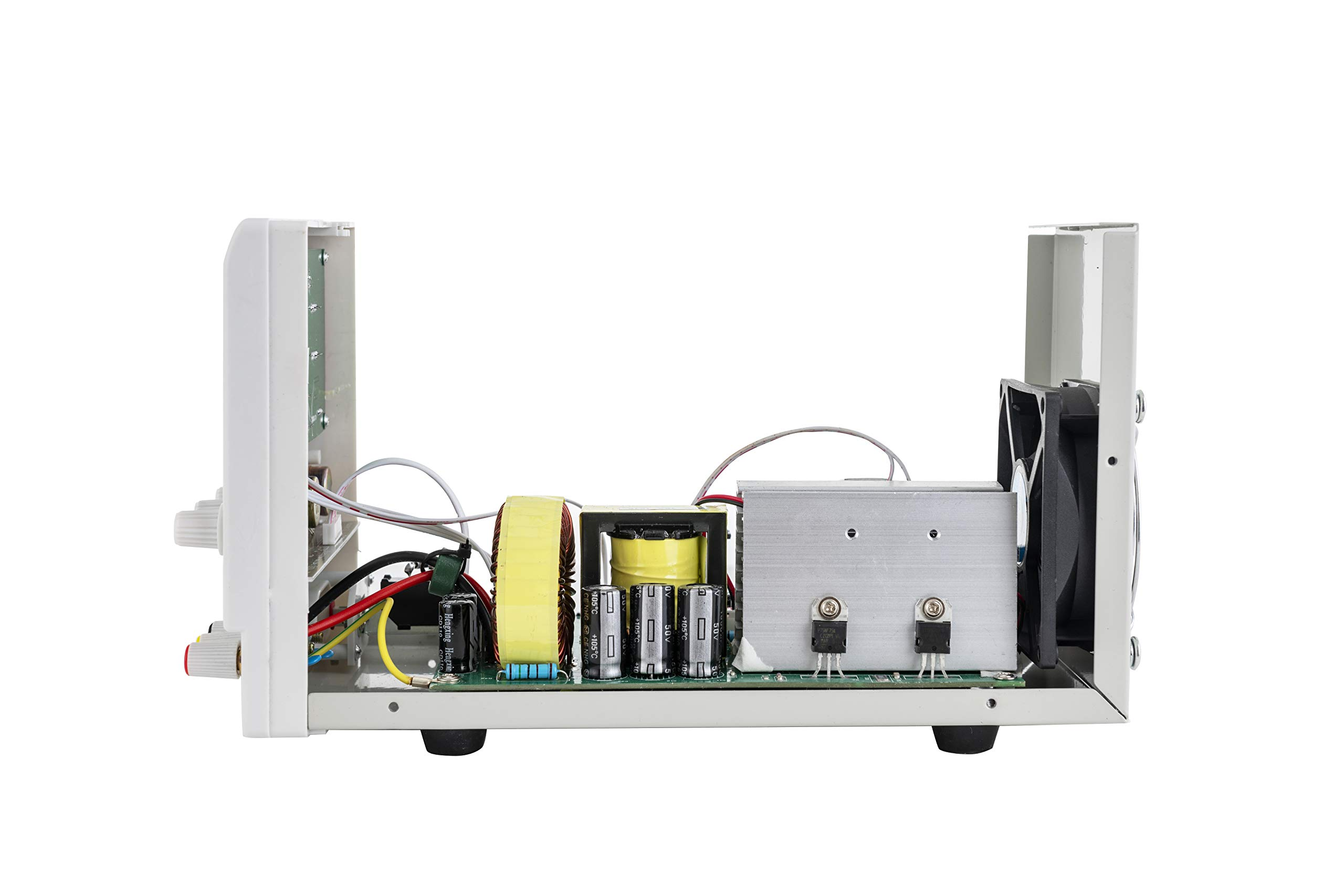 SUNCOO Variable DC Power Supply 30V 5A Adjustable Regulated Lab Bench Power Supply with Digital LED Display Alligator Clip Cable, US Standard Cord by SUNCOO (Image #9)