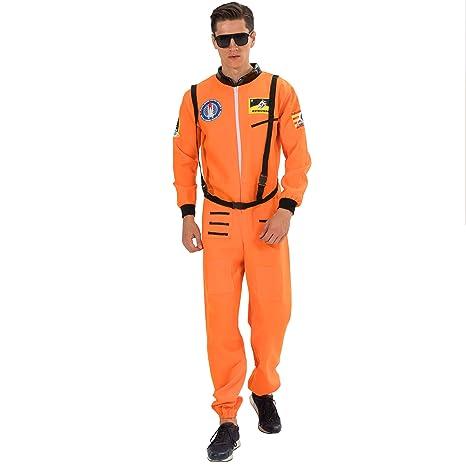 EraSpooky Disfraz de Astronauta para Hombre Traje de ...