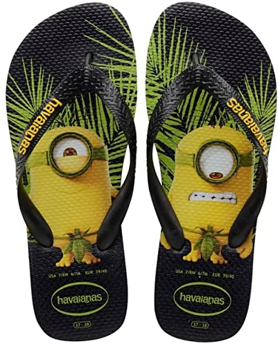 075914fa4387d6 Havaianas Printed Flip Flops Men/Women Minions: Amazon.co.uk: Shoes ...