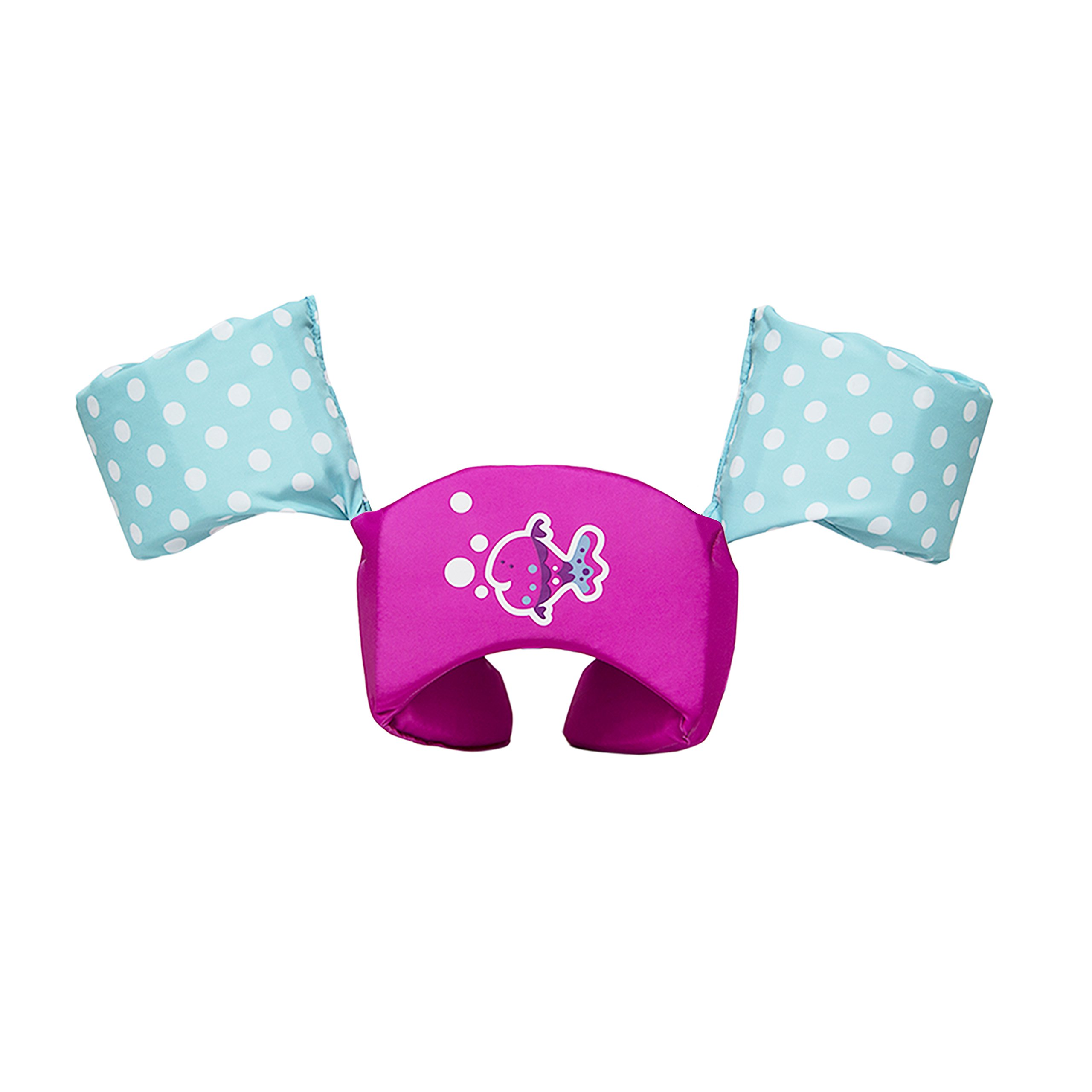 SwimWays Sea Squirts Life Jacket Swim Trainer - USCG Approved - Pink Fish by SwimWays (Image #1)