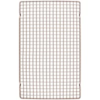 CHEFMADE Baking and Cooling Rack, 16-Inch Non-Stick Bold-Grid Design Rectangle Wire Rack for Oven Baking (Champagne Gold…