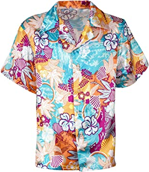 Horror-Shop Camisa Hawaii Satin XXL: Amazon.es: Juguetes y juegos