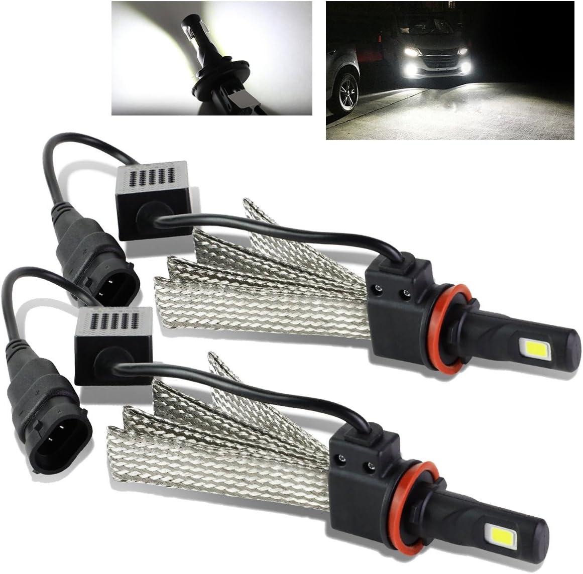 modifystreet 9005/HB3 60 W 7200LM 6000 K bombillas LED W/disipador de calor de refrigeración de aluminio cinturones para faros/luces antiniebla: Amazon.es: Coche y moto