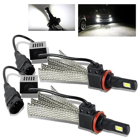 modifystreet 9005/HB3 60 W 7200LM 6000 K bombillas LED W/disipador de calor