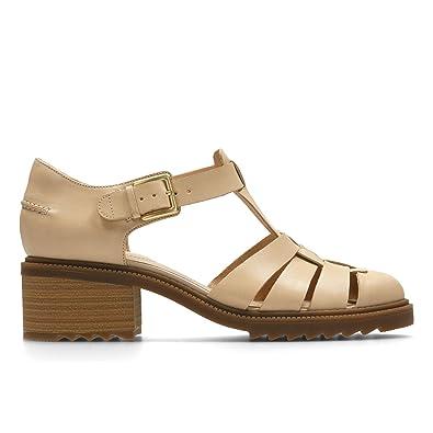 Standard Cuir Chaussures Spring Balmer Nude Forme En Clarks R0v61PnqP