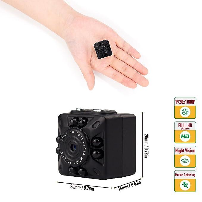 Amazon.com: Micro SD Hidden Camera Spy Mini Security Camera -1080P ...