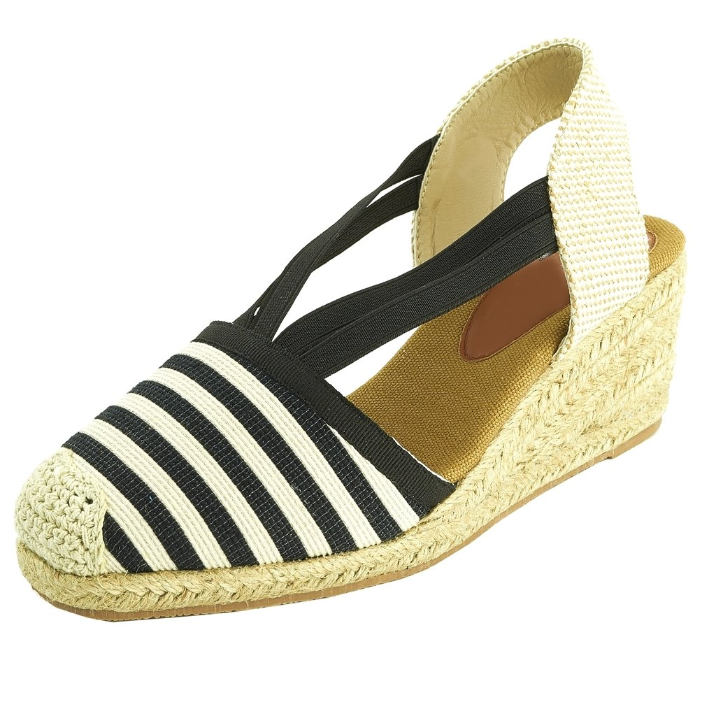 Espadrille Sopily Elastique Blanc Chaussure Mode 5 Sandale 7 CwgXqwr