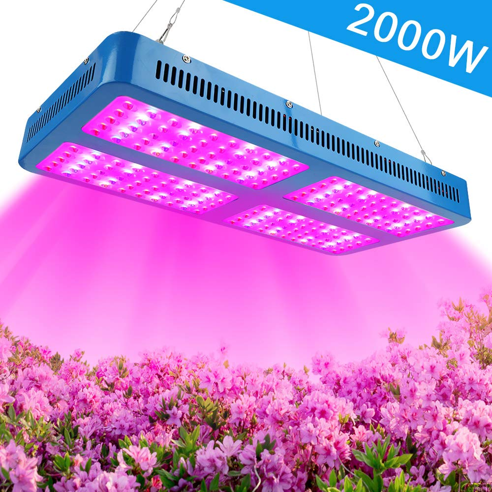 LED Pflanzenlampe Vollspektrum 2000W Pflanzenlicht DREI Chip LED Grow Lampe hohe Leistung wachsen licht lichtspektrum für
