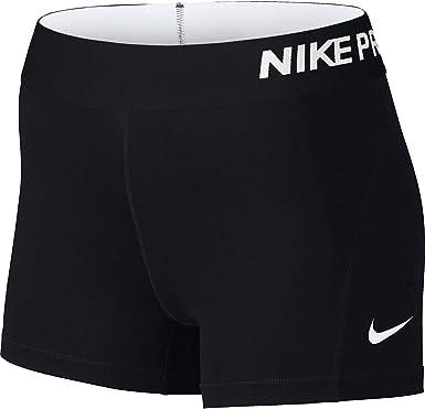Amazon Com Nike Pro Pantalones Cortos De Entrenamiento Para Mujer 3 Pulgadas Clothing