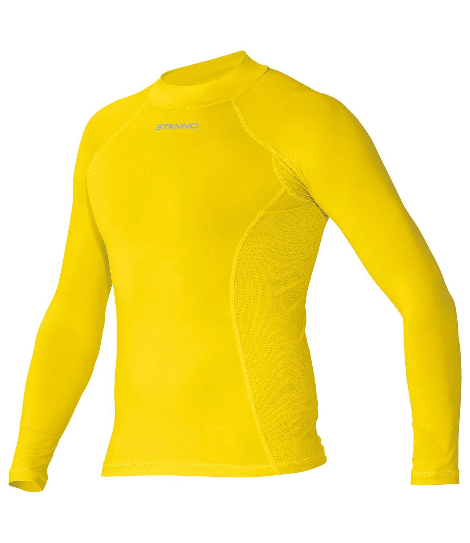 Stanno Funktionsunterwäsche Langarm Unterhemd gelb (gelb)