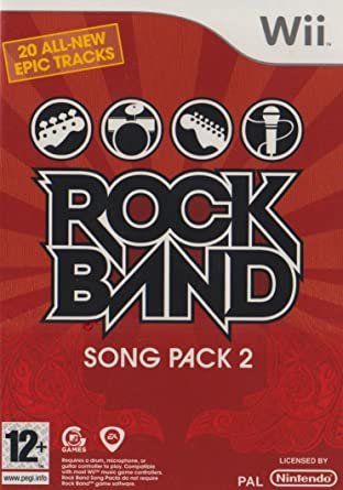 Rockband Song Pack 2 Wii Amazoncouk PC Video Games