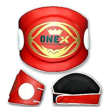 Onex Boxing Belly Pad Chest Guard MMA Body Armour Protector Martial Arts Rib Shield Armour Taekwondo Training Muay Thai