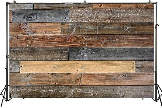 CdHBH Retro Photography Backdrops Wooden Floor Photo Studio Background Vinyl 5x7FT QX113