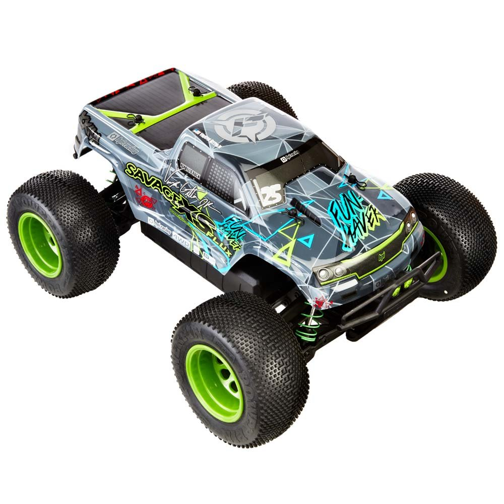 Hobby Products International Racing 115967 Savage Xs Thread Stampede 4x4 Vxl Press Release And Pics Flux V Gittin Jr Fun Haver 4wd Ready To Run Radio Control Truck Toys Games