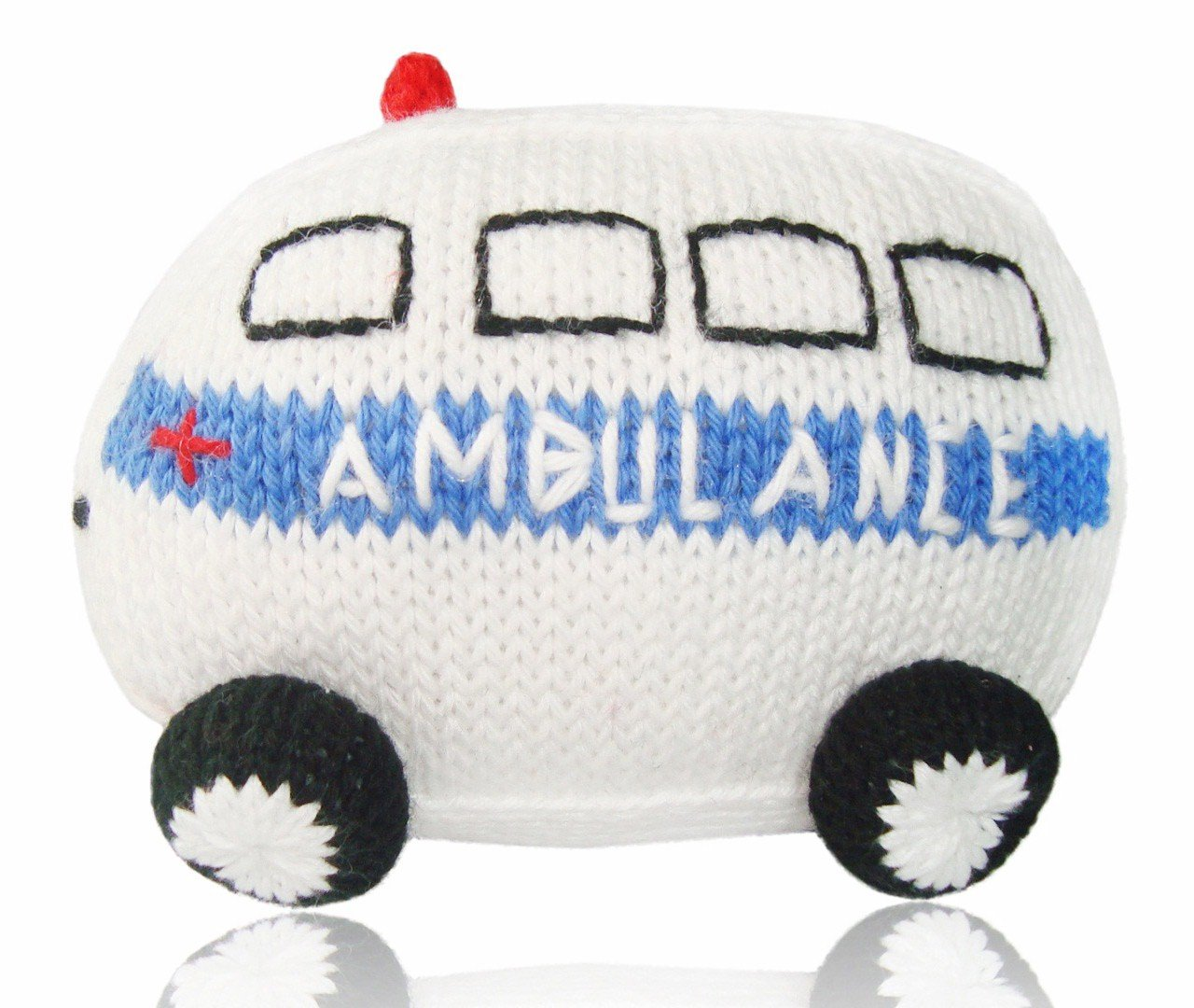 Estella Baby Rattle Toy, Ambulance by Estella   B008C25BFW