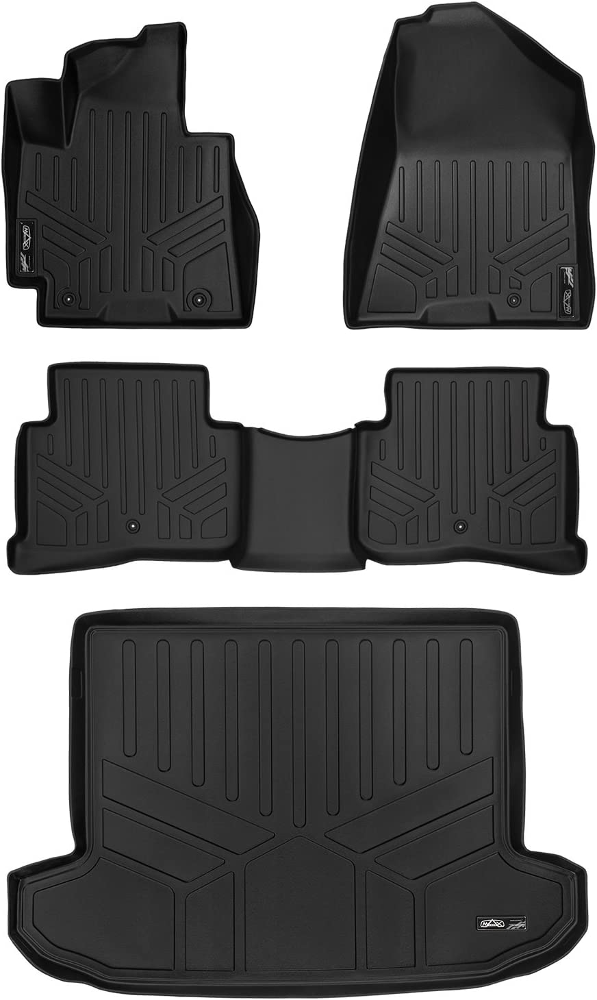 Black MAXLINER D0206 Tray Cargo Liner for Hyundai Tucson 2016 Behind 2nd Row