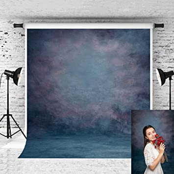 10X10FT-Retro Blue Stone Wall Decoration Photography Backdrops Vinyl Background Props for Photo Studio