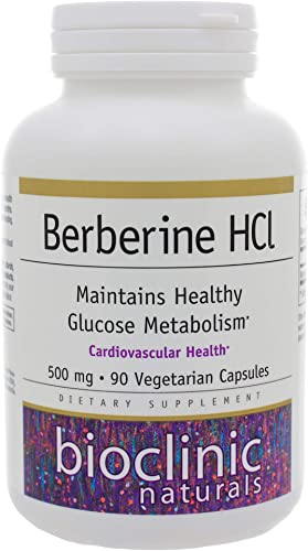 Bioclinic Naturals Berberine HCL 500 mg 90 Caps