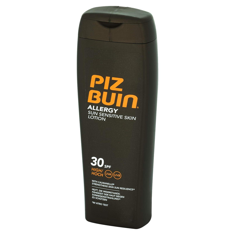 Piz Buin - Protección Solar, Loción allergy SPF 30 - Protección alta Bote 200 ml: Amazon.es: Belleza
