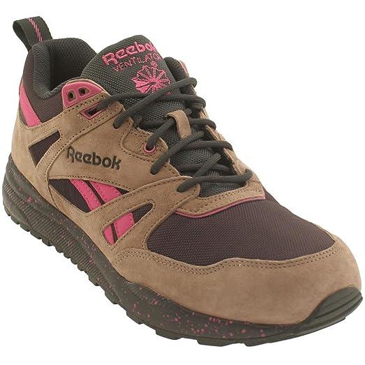 Reebok Men Ventilator Exp (brown / taupe / night violet / gravel / charged  pink