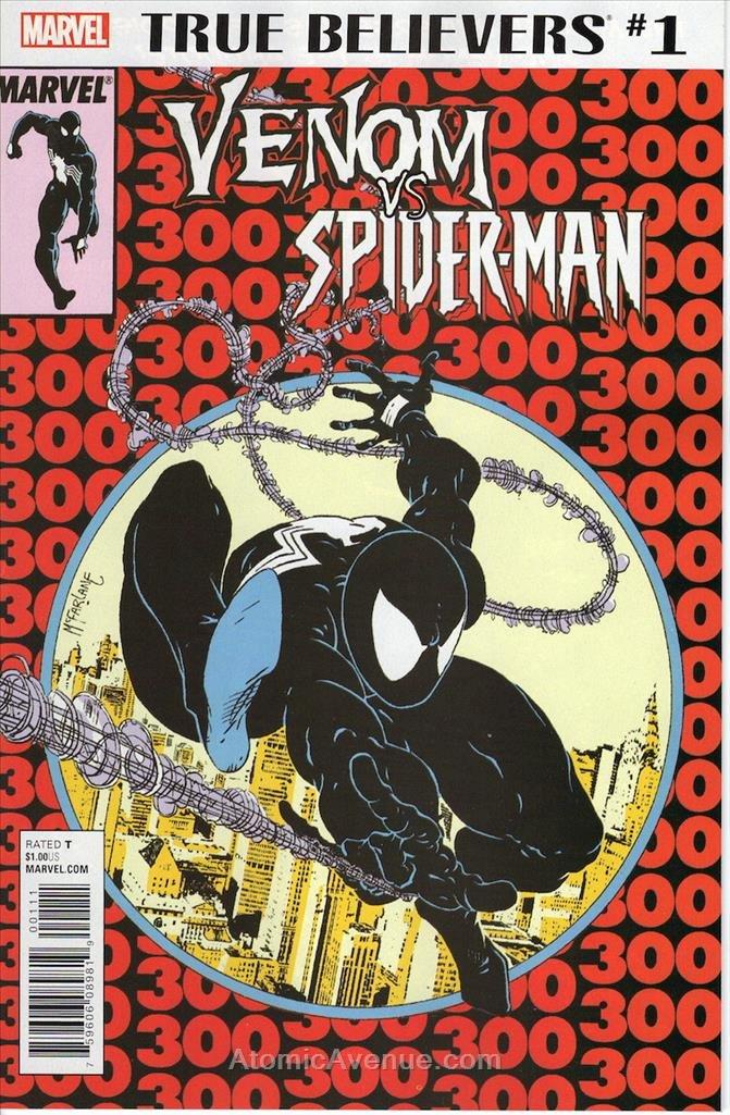 True Believers: Venom vs. Spider-Man #1 VF/NM ; Marvel comic book